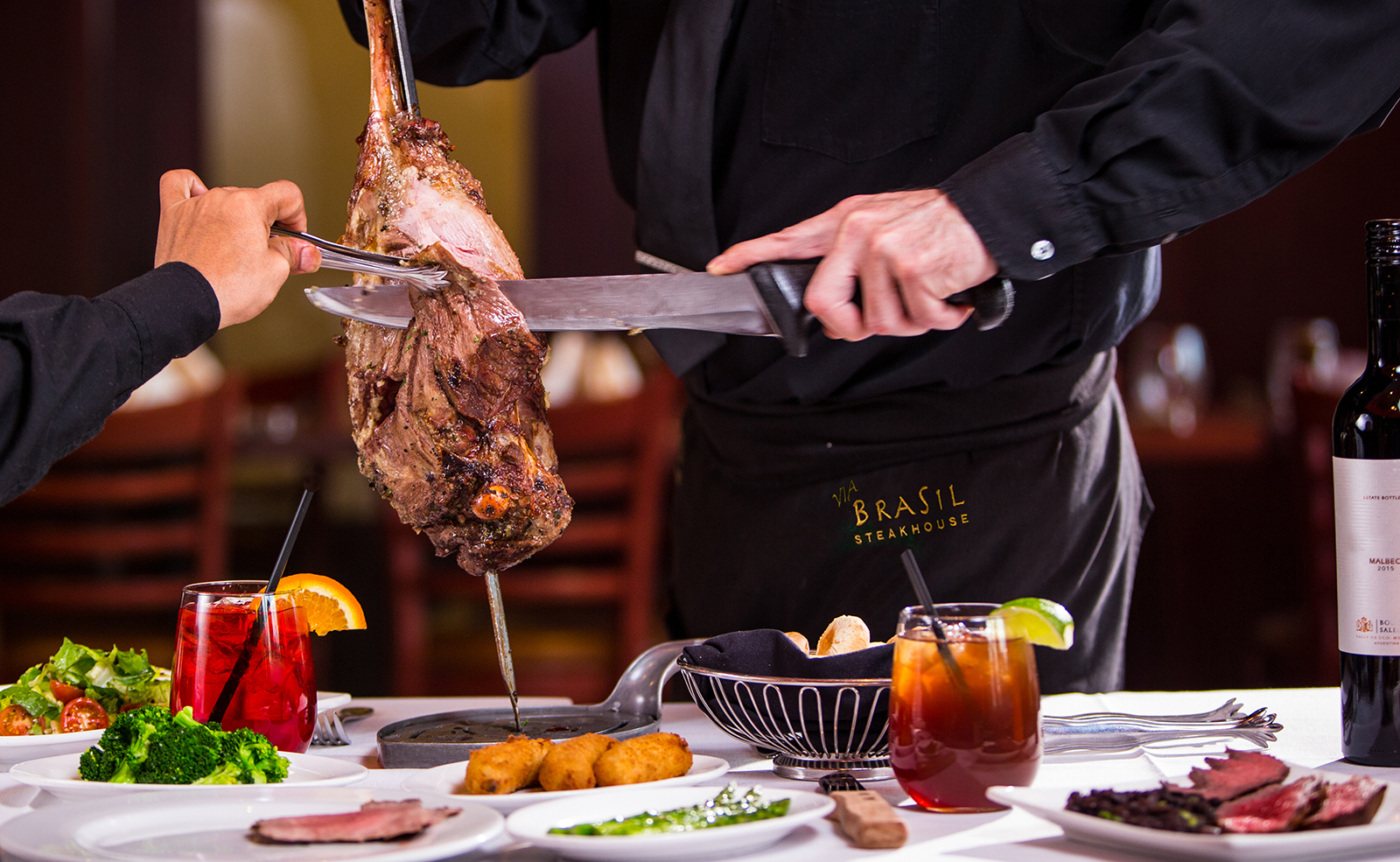 Via Brasil Steakhouse Authentic Churrascaria In Summerlin